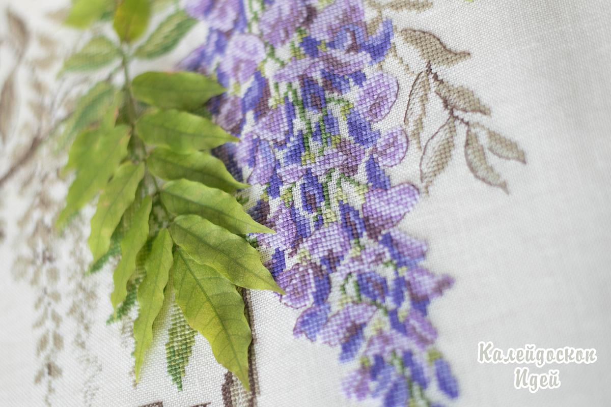 """Ботаника от Veronique Enginger """"Глициния"""""""