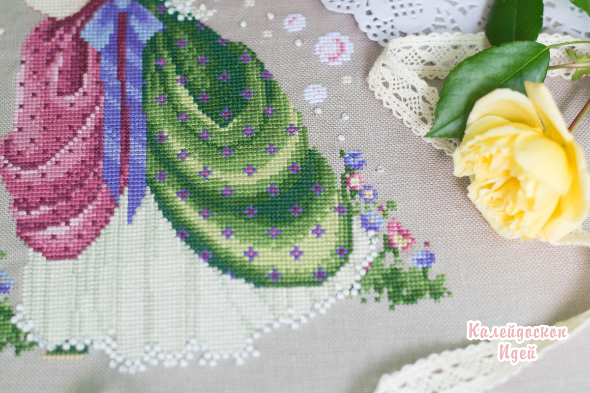 Lavender and Lace ''Isabella's garden'' LL63