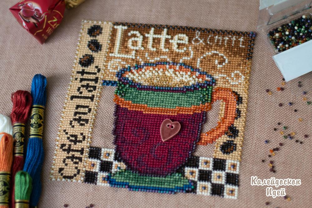 Набор для вышивания Mill Hill MH14-8205 Latte