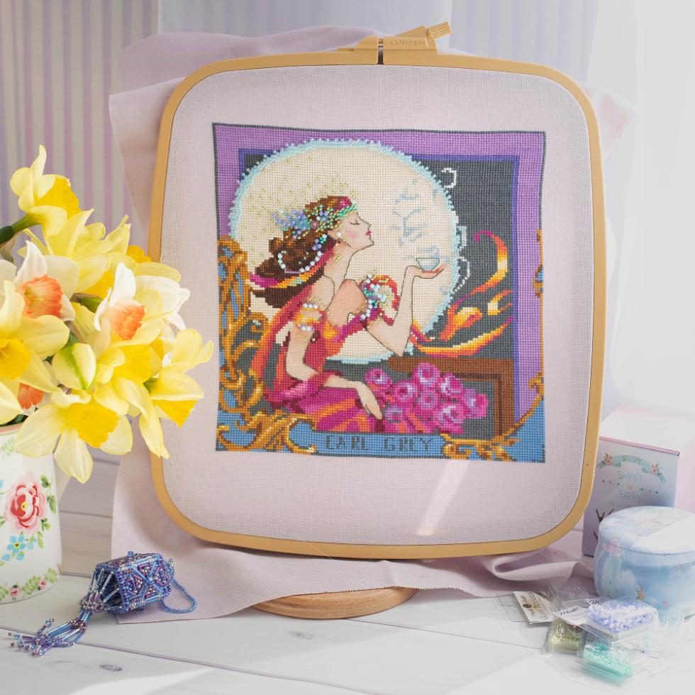 Silver Moon Tea Mirabilia Designs MD119